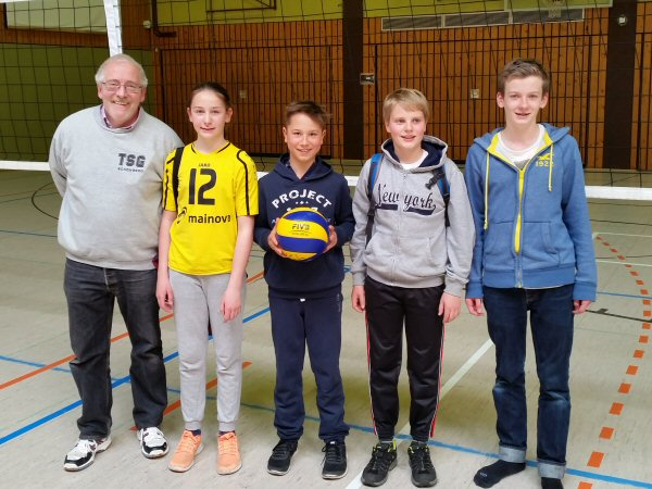 Volleyball-Hessenjugendpokal 2015: mU14